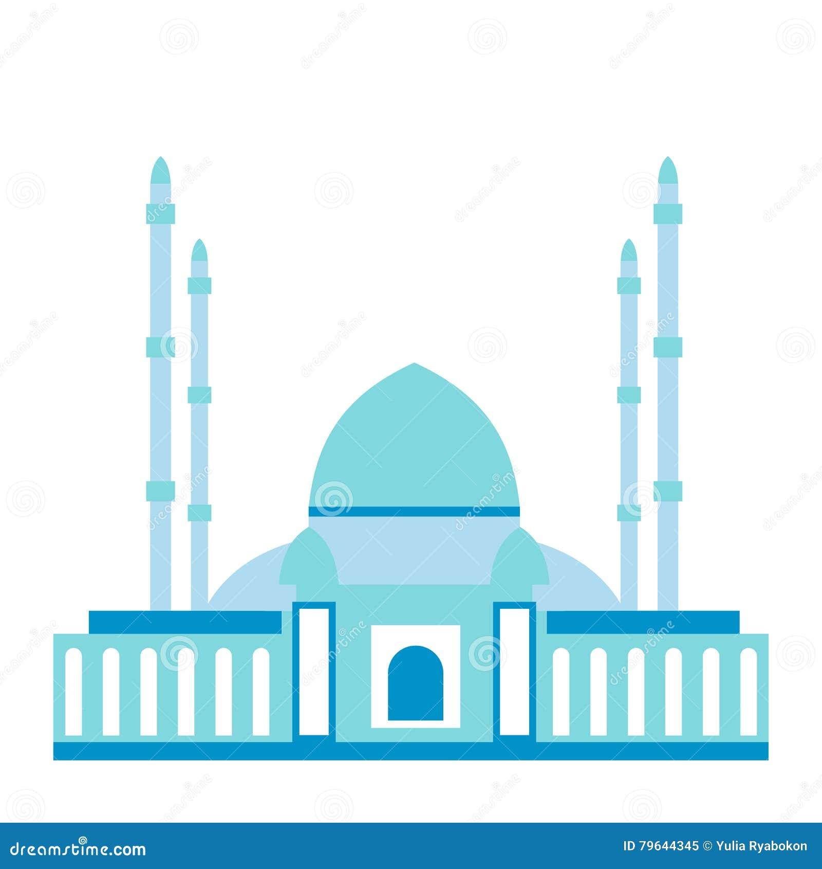 Plan symbol för moské