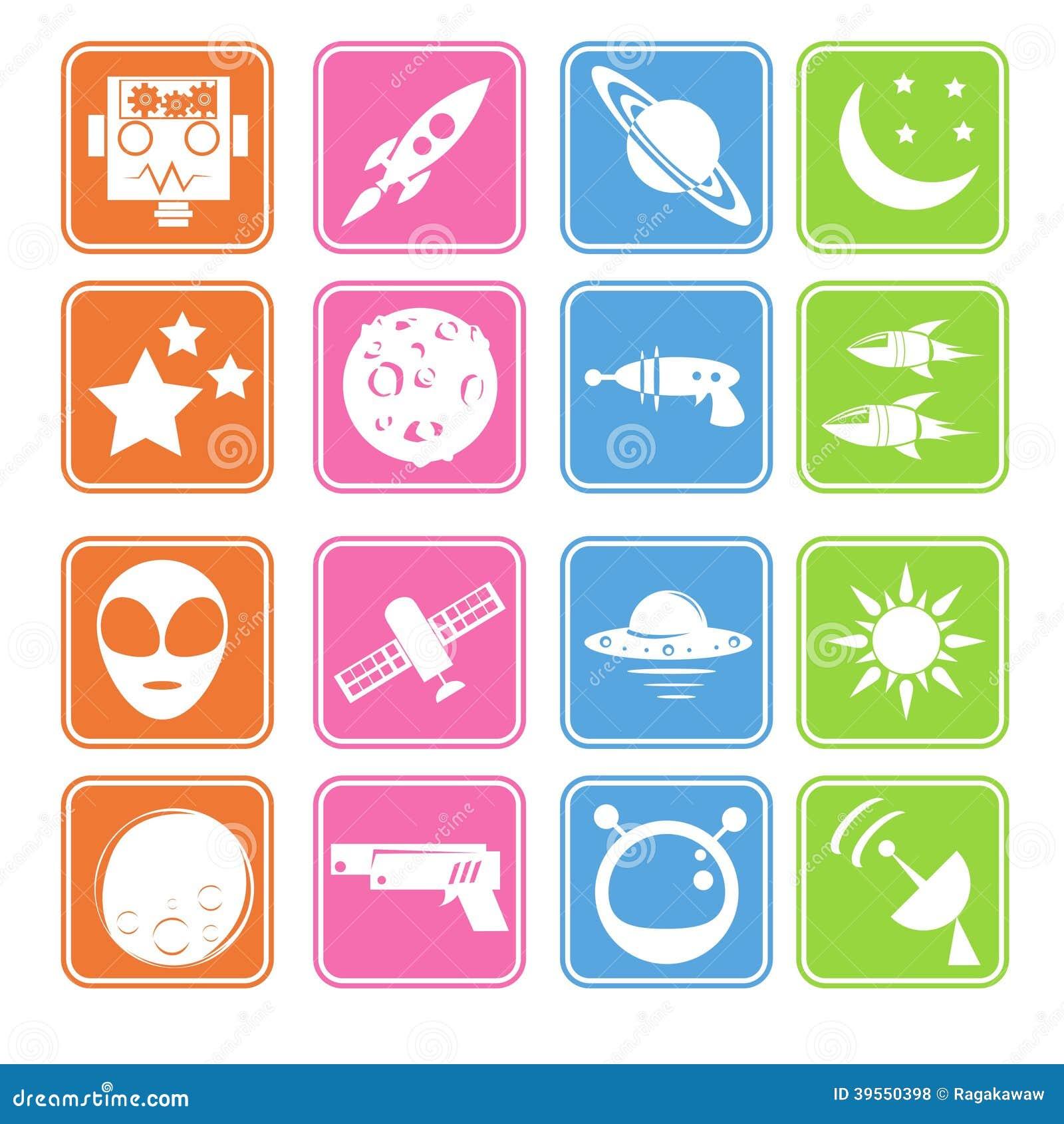 Plan symbol för utrymme och för främling
