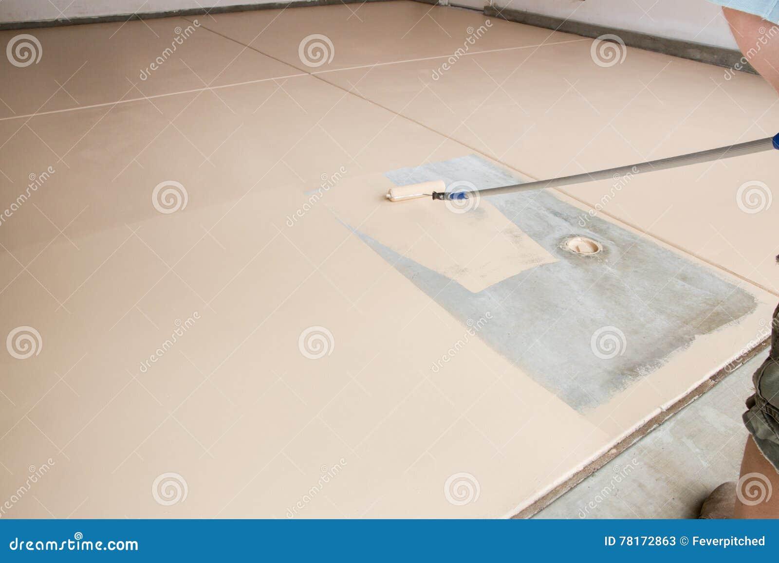 Plancher de peinture de garage
