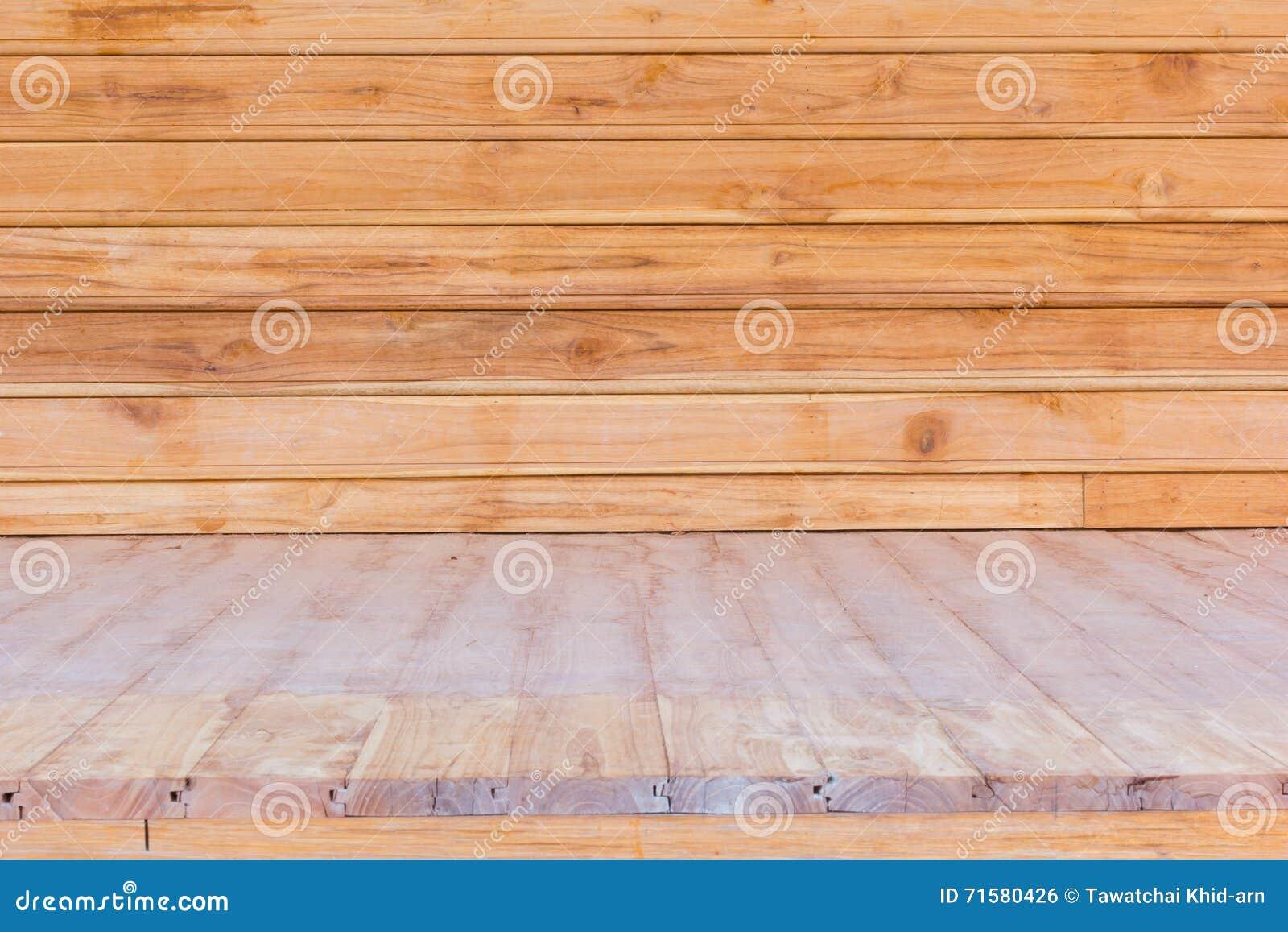 plancher en bois et mur utilis s pour le fond photo stock - Bois Decoratif Pour Mur