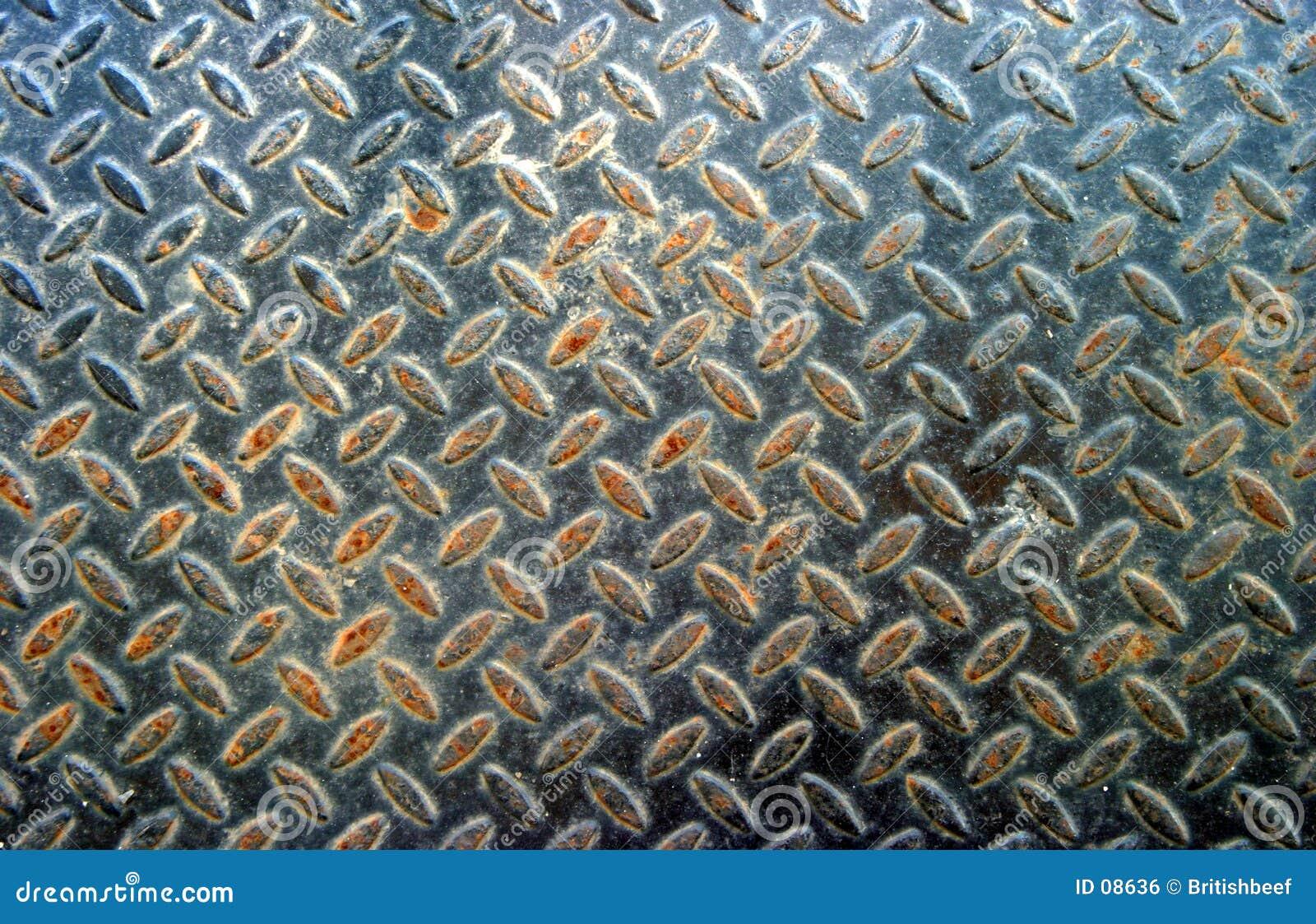 Plancher en métal