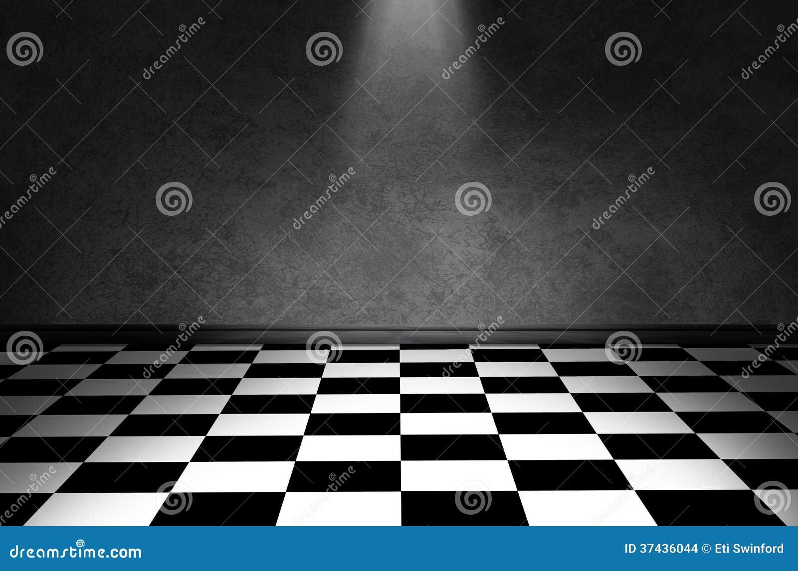 plancher noir et blanc de contr le images stock image 37436044. Black Bedroom Furniture Sets. Home Design Ideas