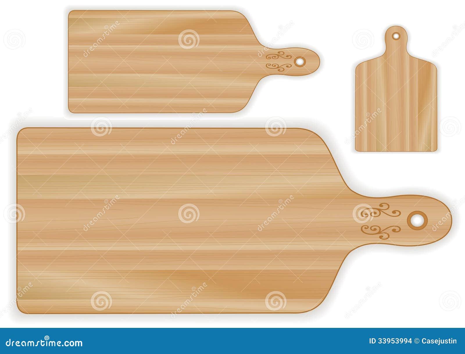 Grande Planche En Bois > Planchesà Découper En Bois, Formes De Palette Images stock Image 33953994