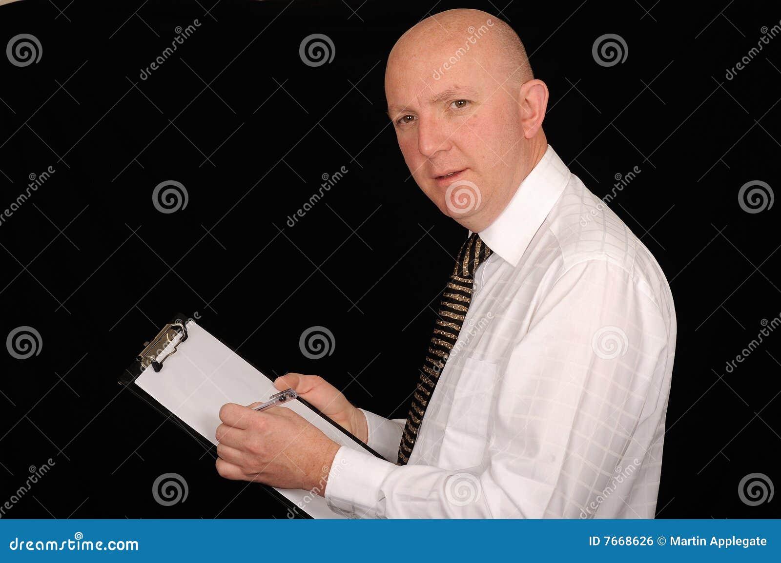 Planchette d homme d affaires