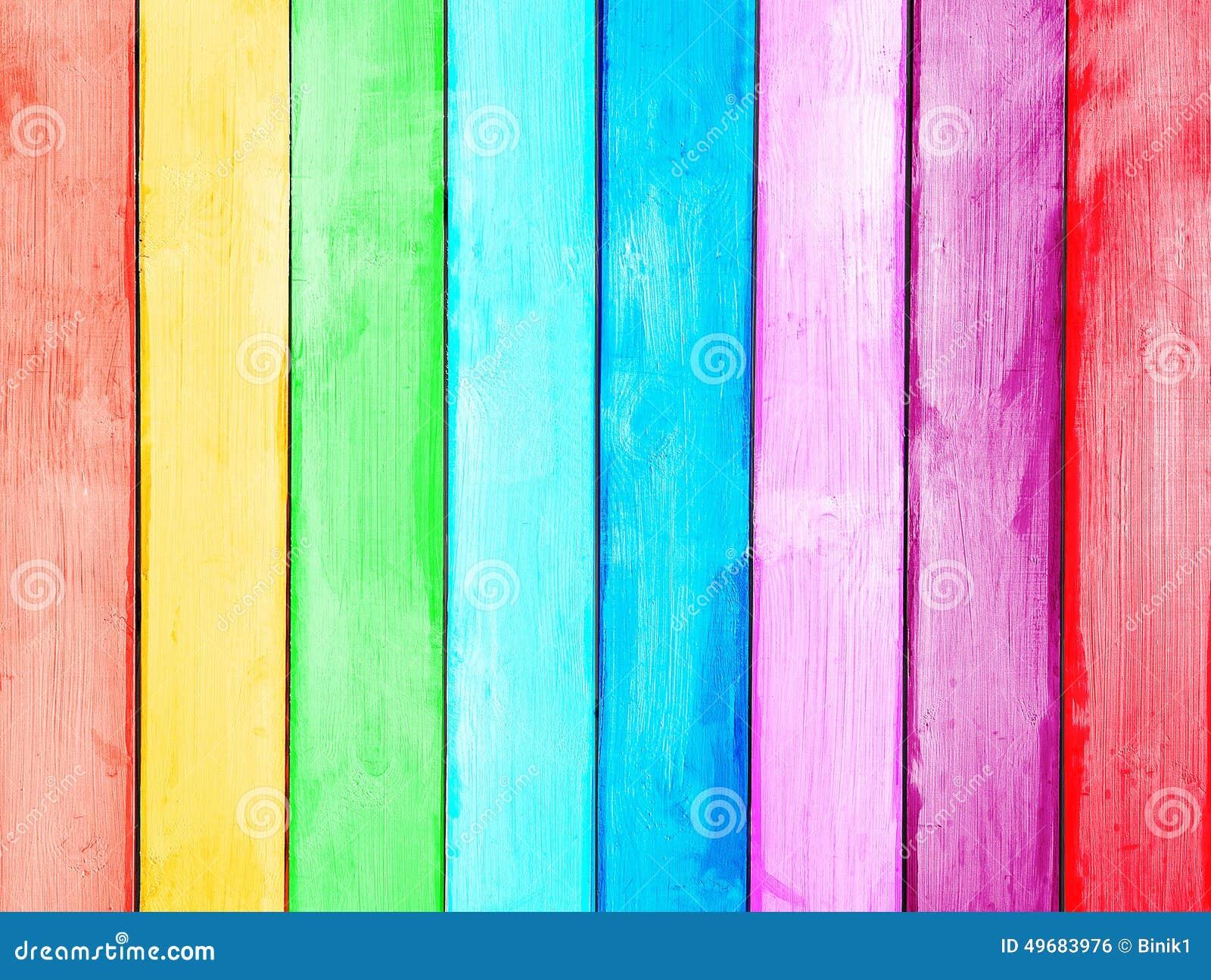 Assi Di Legno Hd : Plancia di legno colorata dipinta fotografia stock immagine di