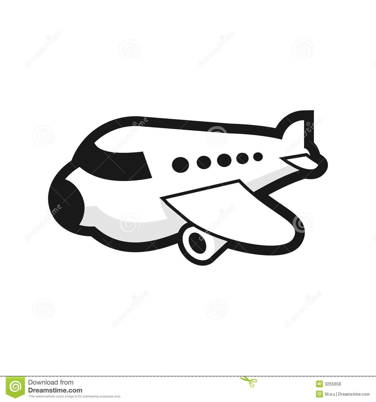 Plane Royalty Free Stock Photos Image 3255658