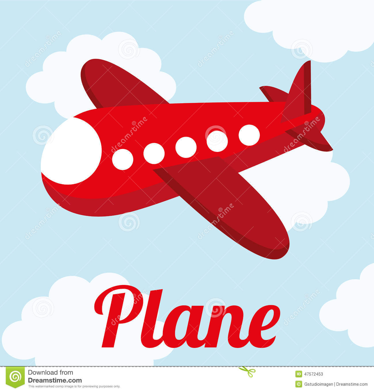 image gallery of cute airplane vector