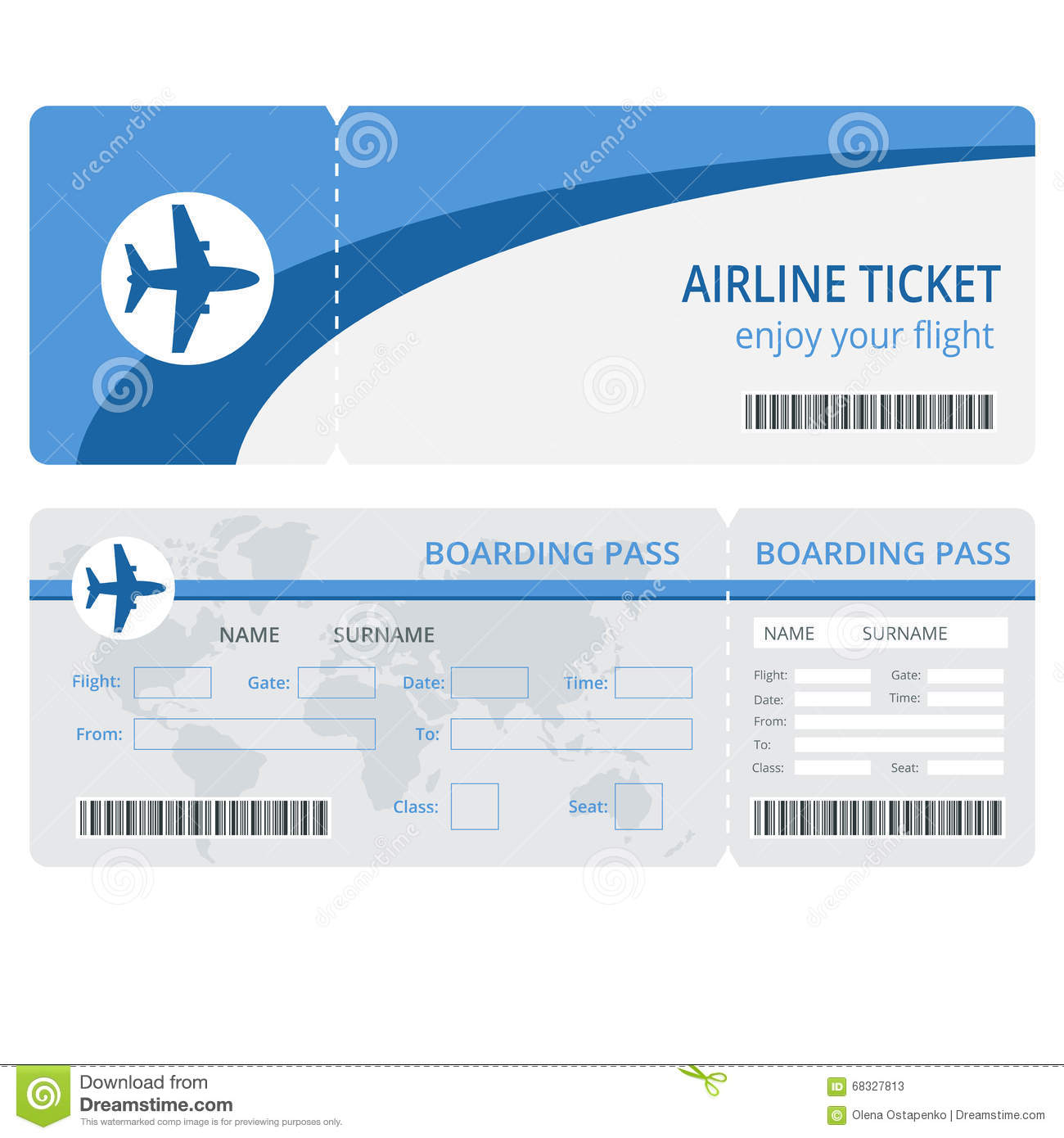 HttpsThumbsDreamstimeComZPlaneTicketDesignPlaneTicket