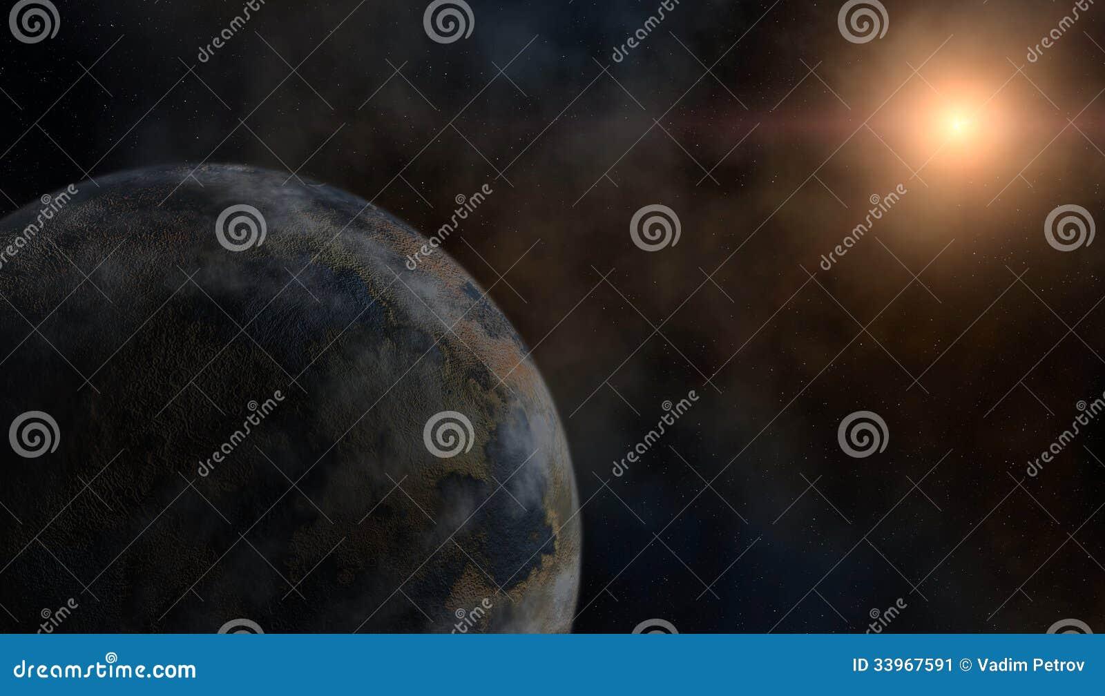 Planeet en een ster