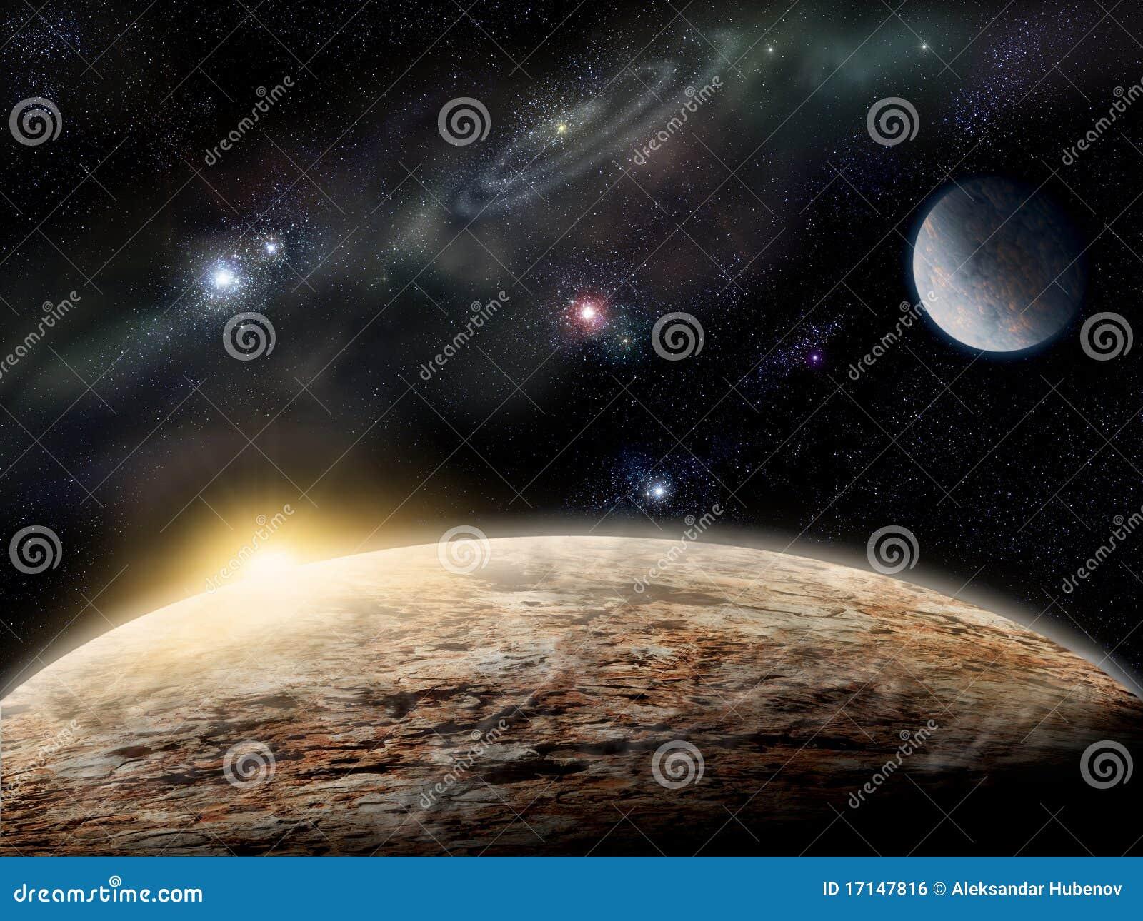 Planeet in ruimte