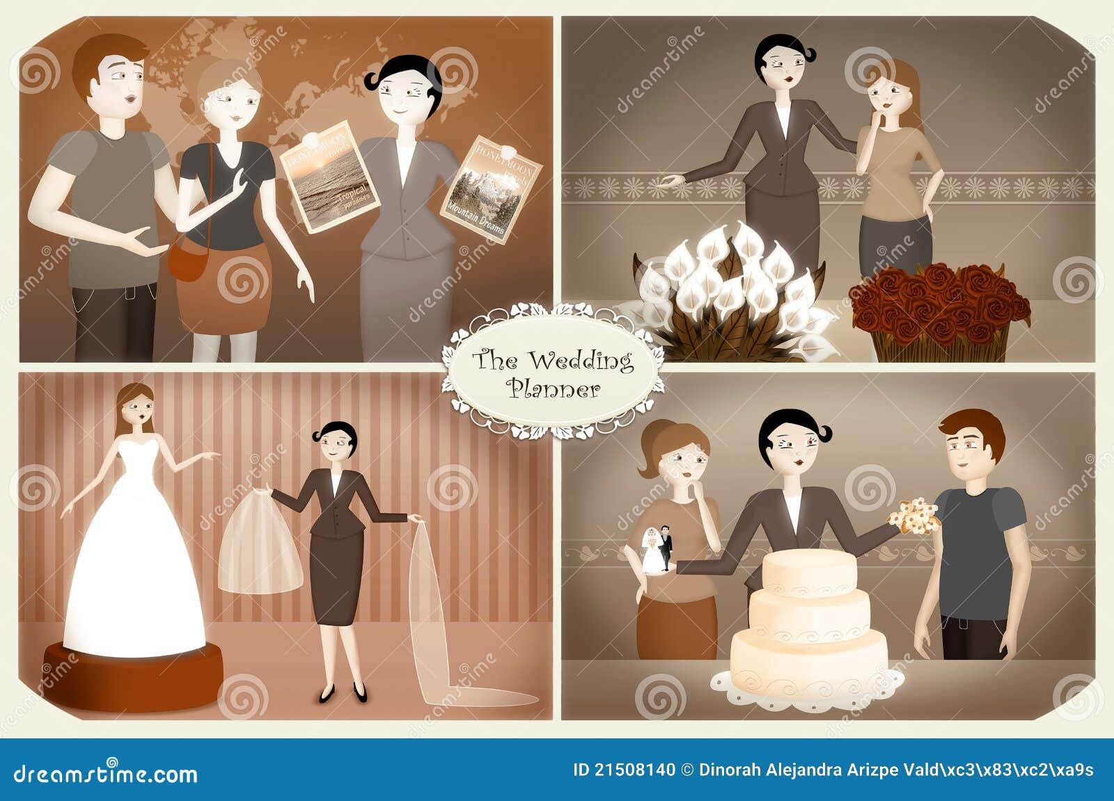 Planejador do casamento