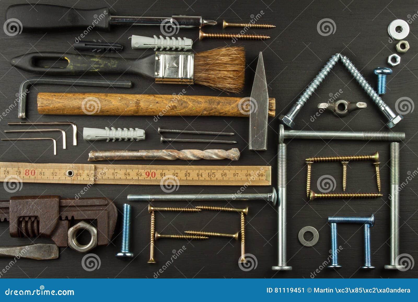 Planes para construir una casa fondo de madera r stico for Casas de herramientas