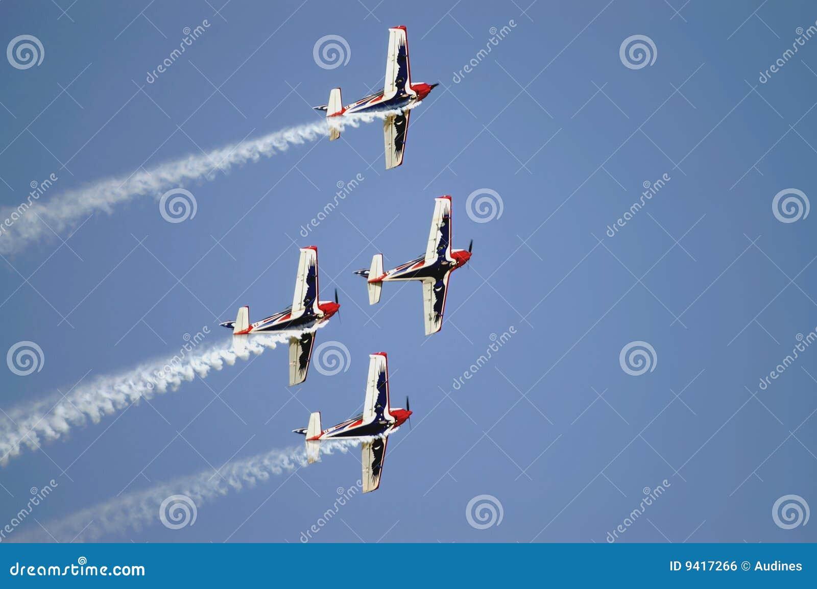 Planes teams