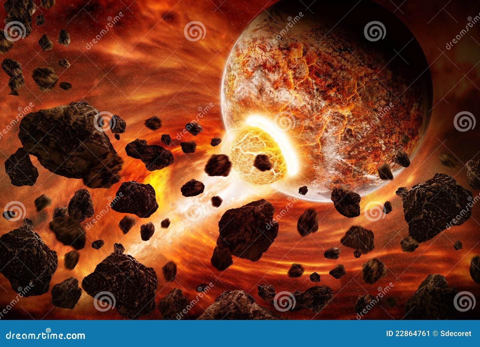 Download Planet Eart Apocalypse Illustration Stock Illustration - Illustration of ninca, fantasy: 22864761
