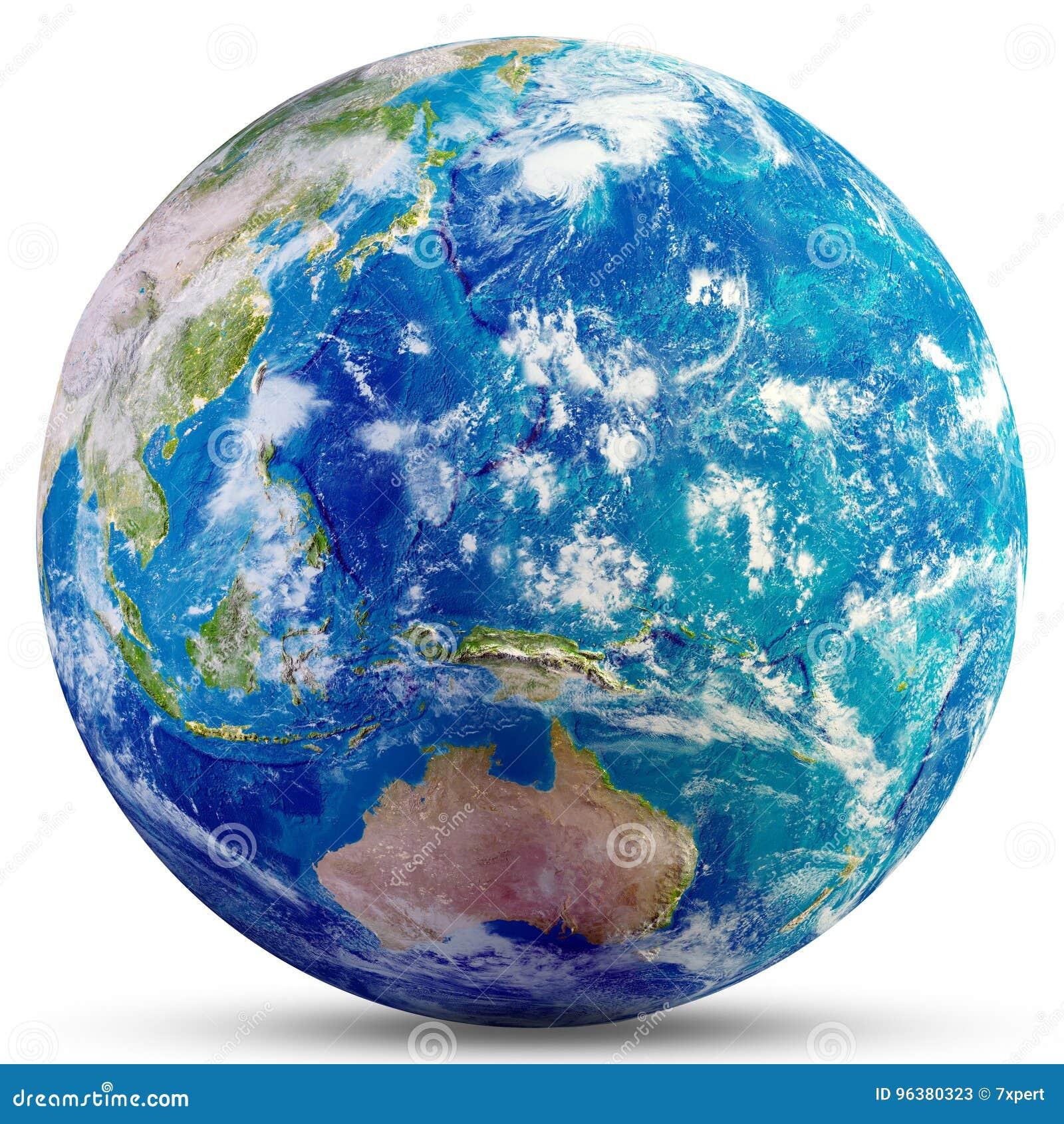 Planet Earth - Australia and Oceania