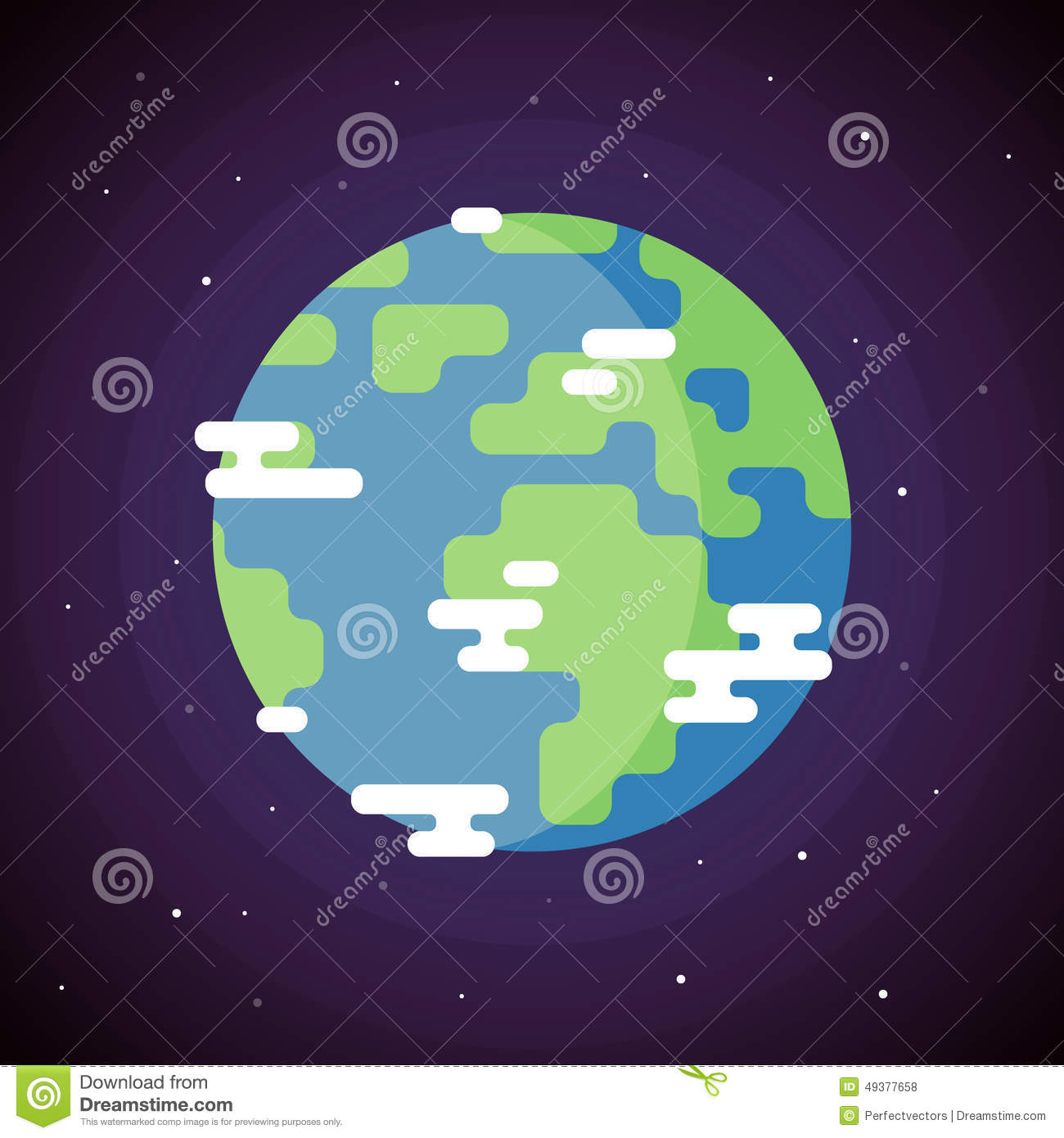 planet earth icon stock vector image 49377658