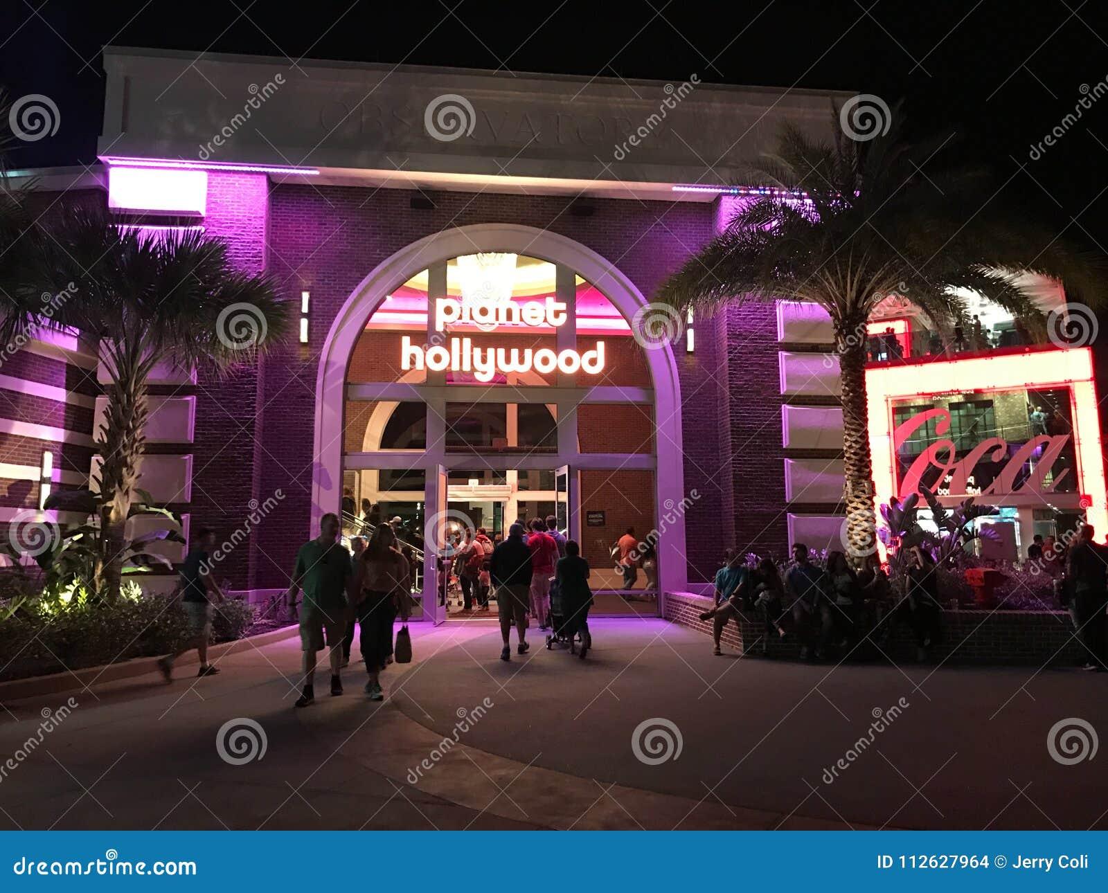 Planet Hollywood, Disney vårar, Orlando, FL
