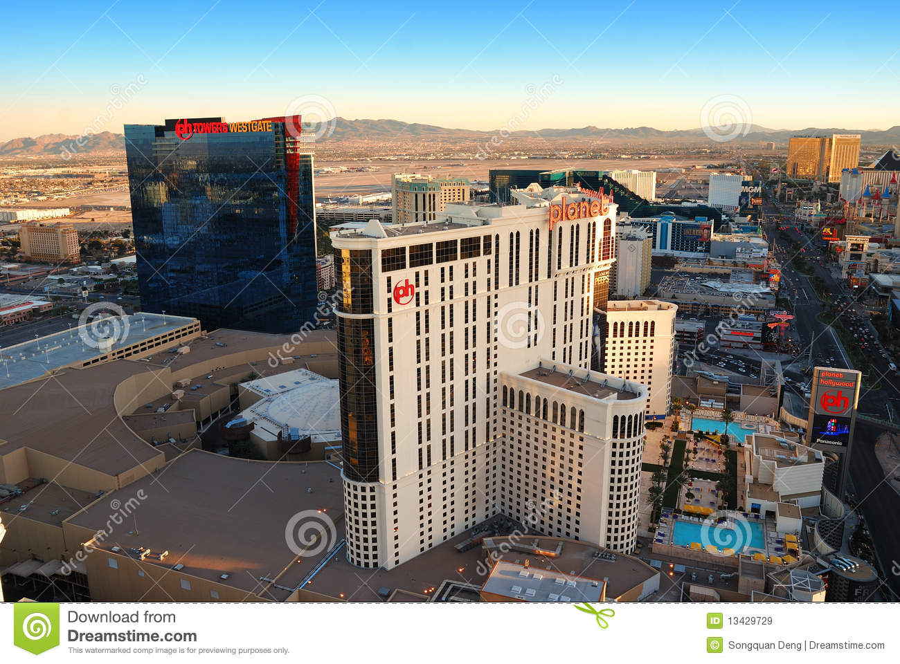 Planet Hollywood Hotel In Las Vegas Editorial Stock Image Image - Planet hollywood las vegas map