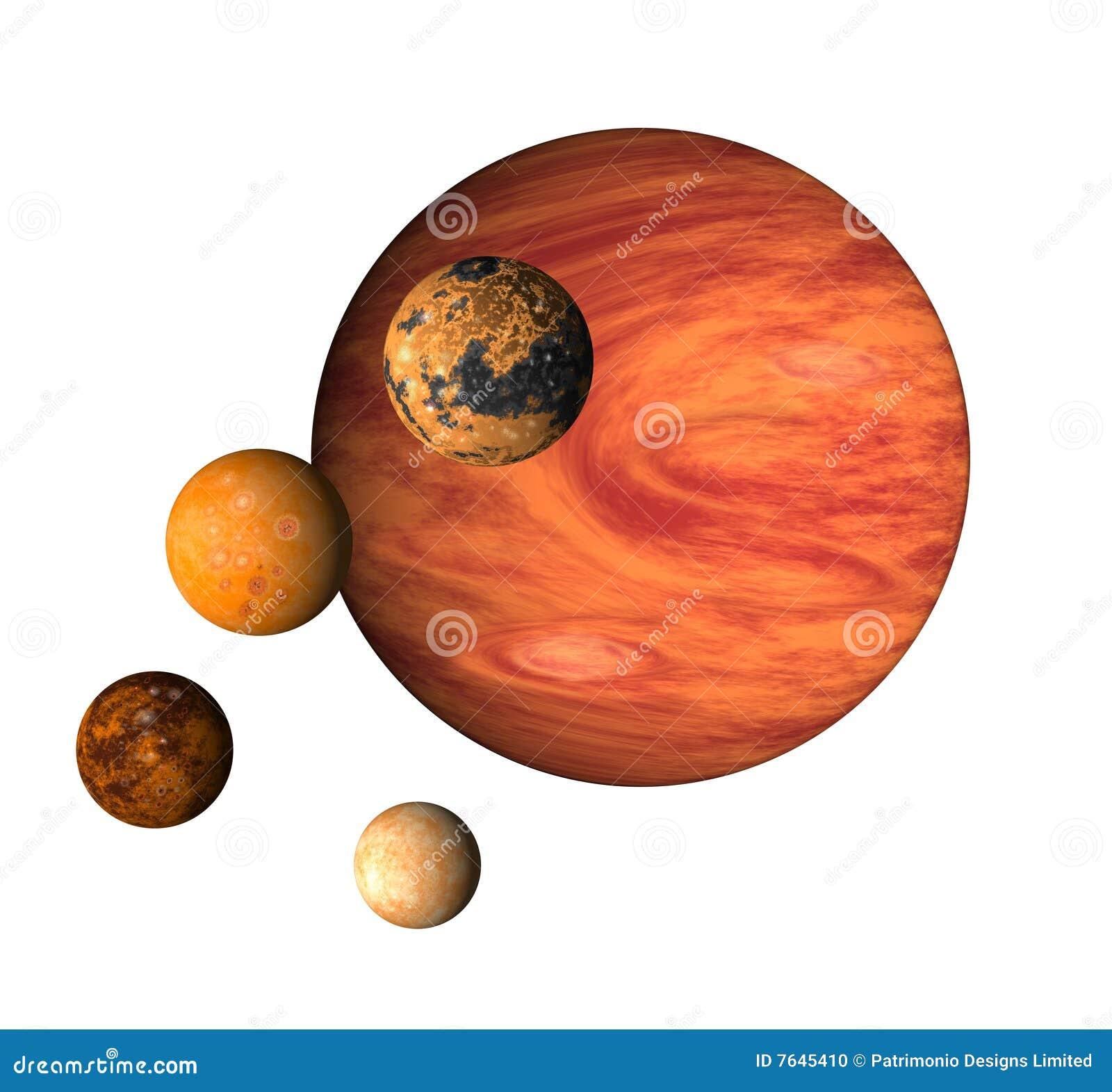 Planet Jupiter Clipart