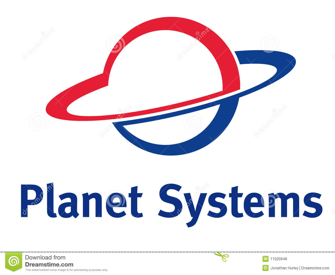 Planet Logo Royalty Free Stock Photos - Image: 11020948