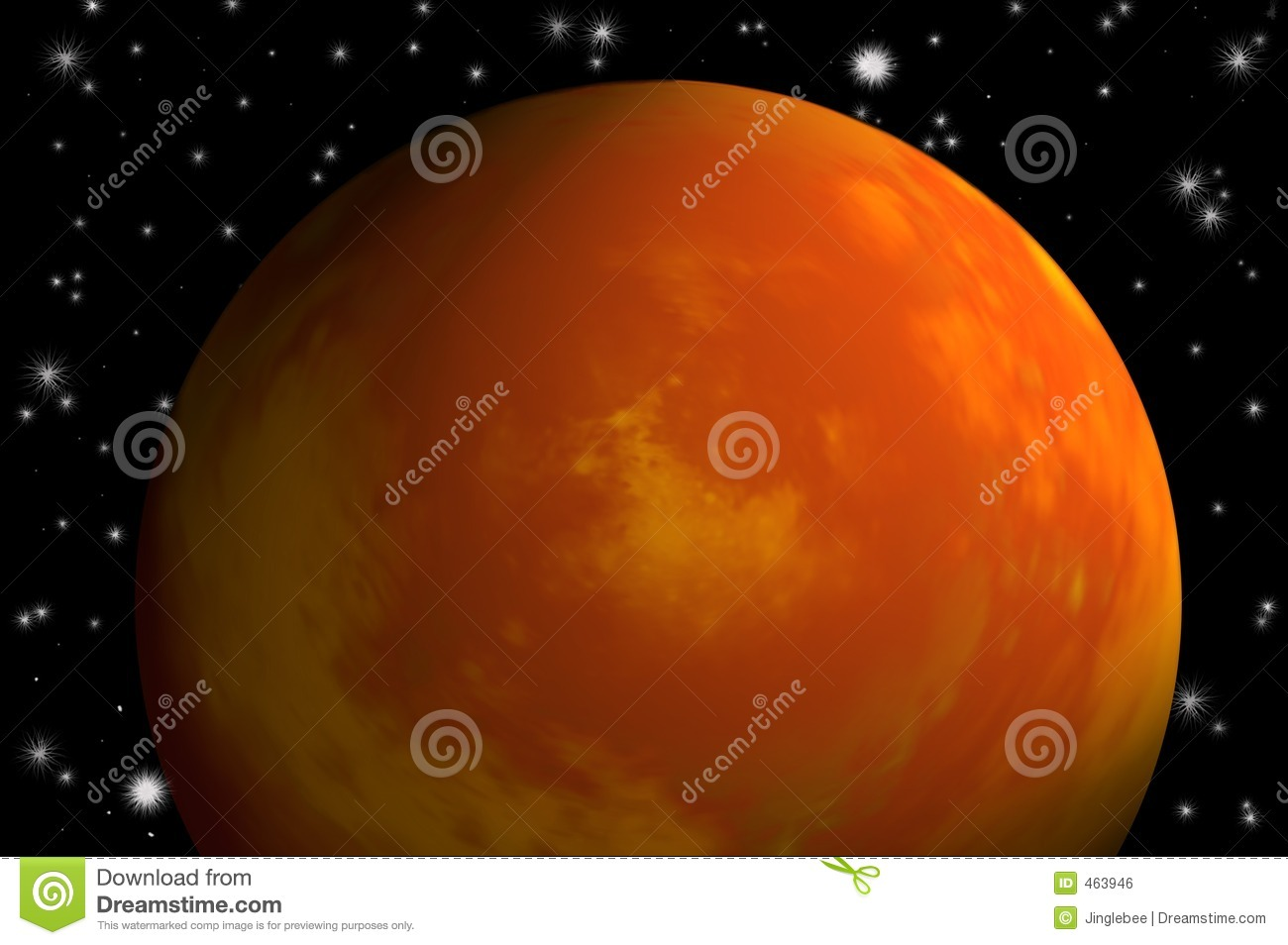 Download Planet mars stock illustration. Illustration of illustration - 463946