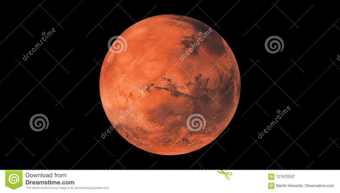 Planet Mars red planet sphere