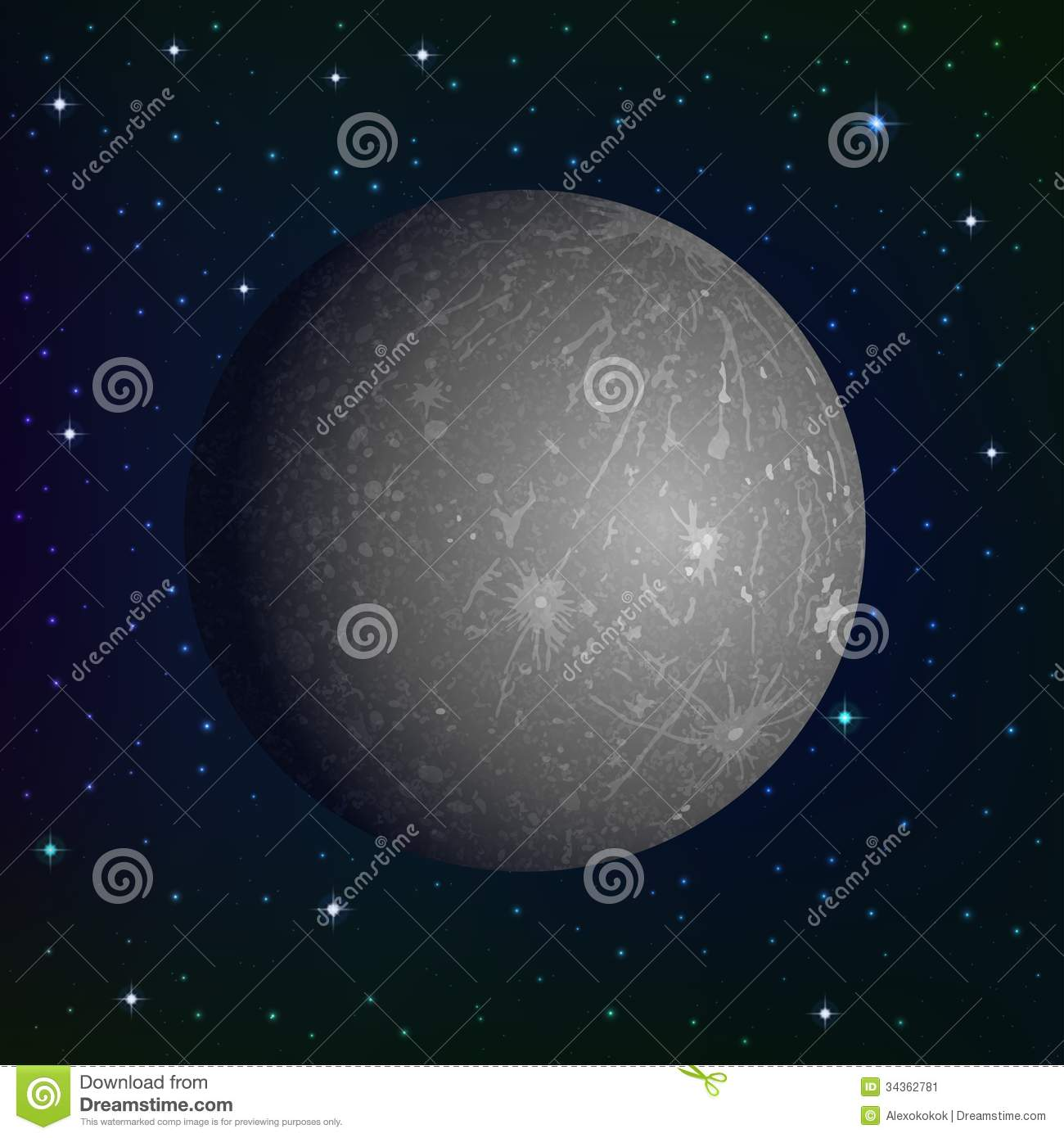 the background information of the planet mercury Color differences on mercury are subtle, but they reveal important information about the nature of the planet's surface material a number of bright spots with a bluish tinge are visible in this image.