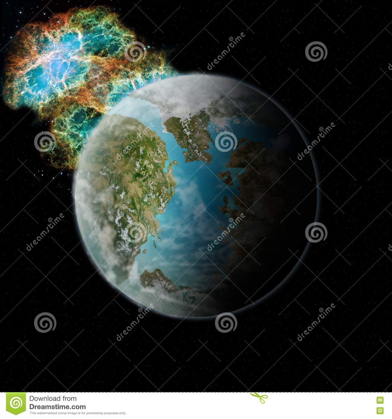 Planet Pandora Stock Photos