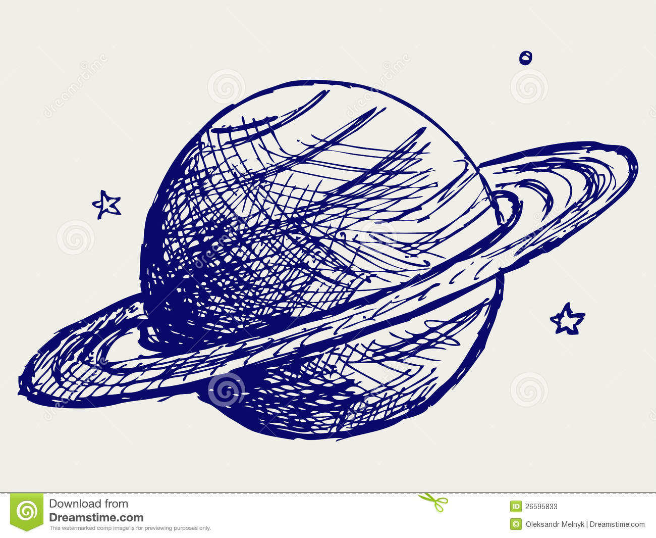 planet saturn drawing - photo #28