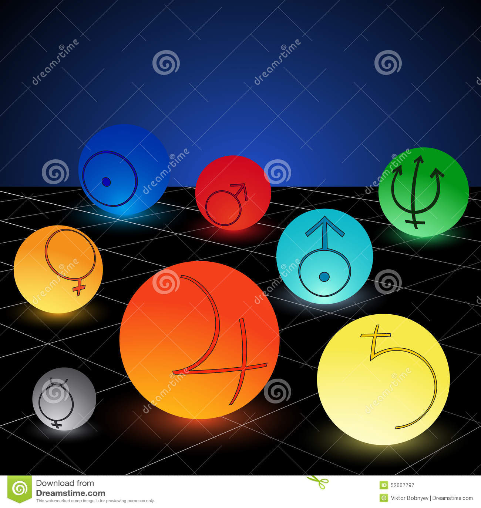 solar system symbols - photo #35