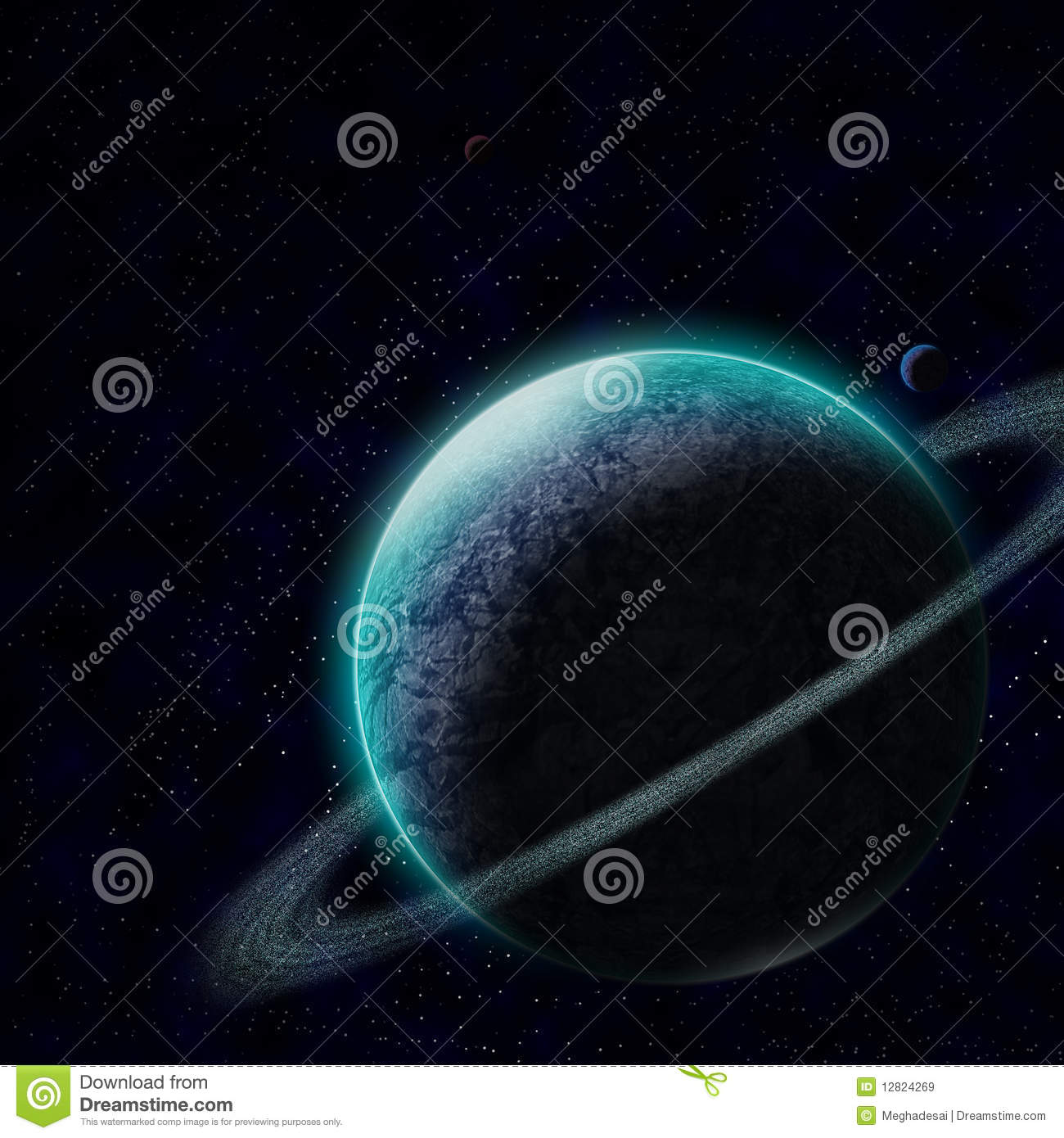 starry sky with planets - photo #14