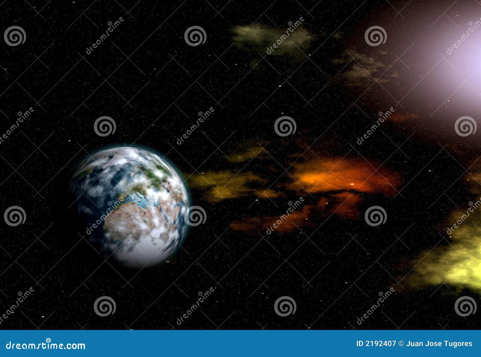 Ilustração Gratis Espaço Todos Os Universo Cosmos: Planeta No Universo Ilustração Stock. Ilustração De