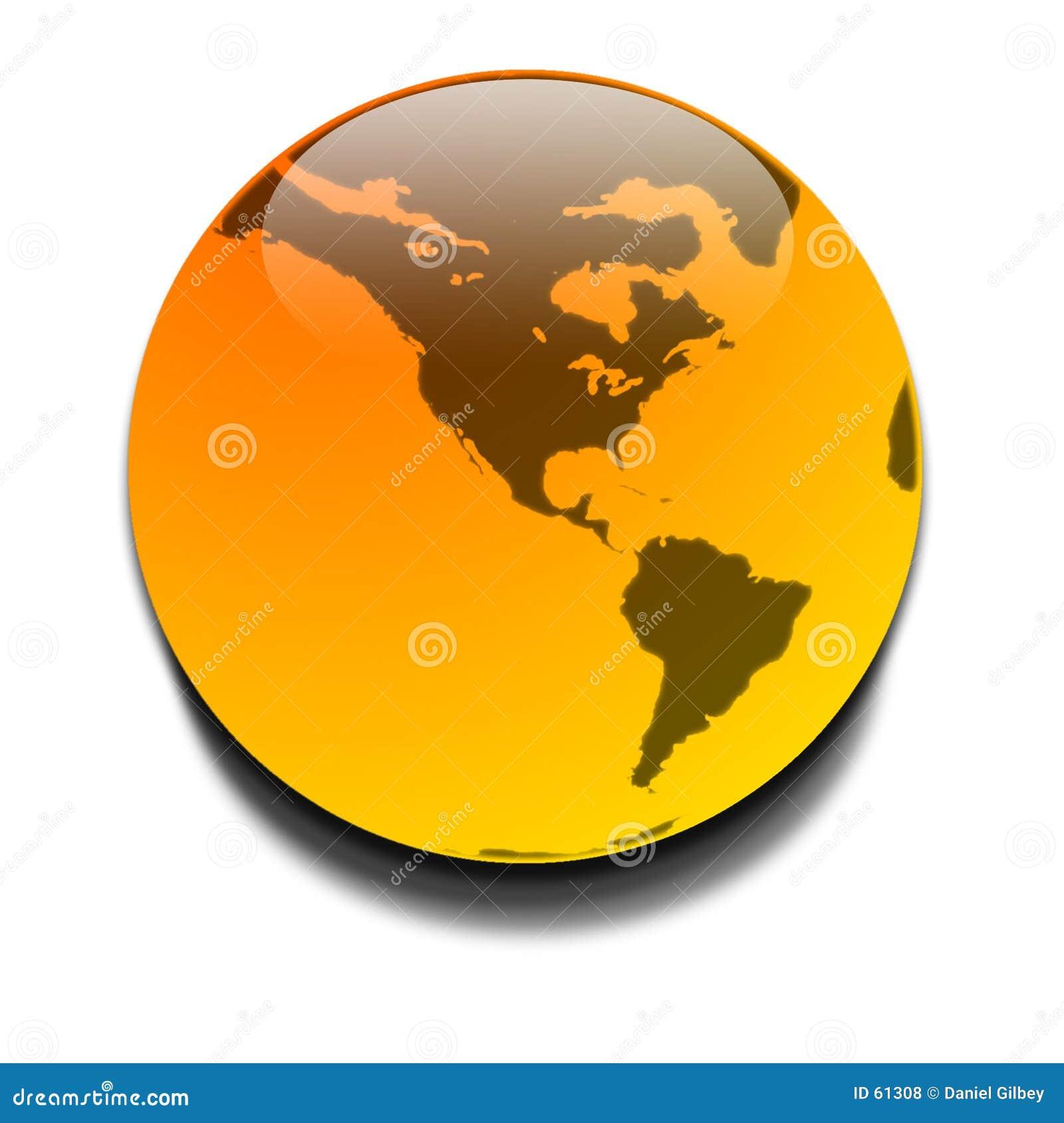 Planeta orange