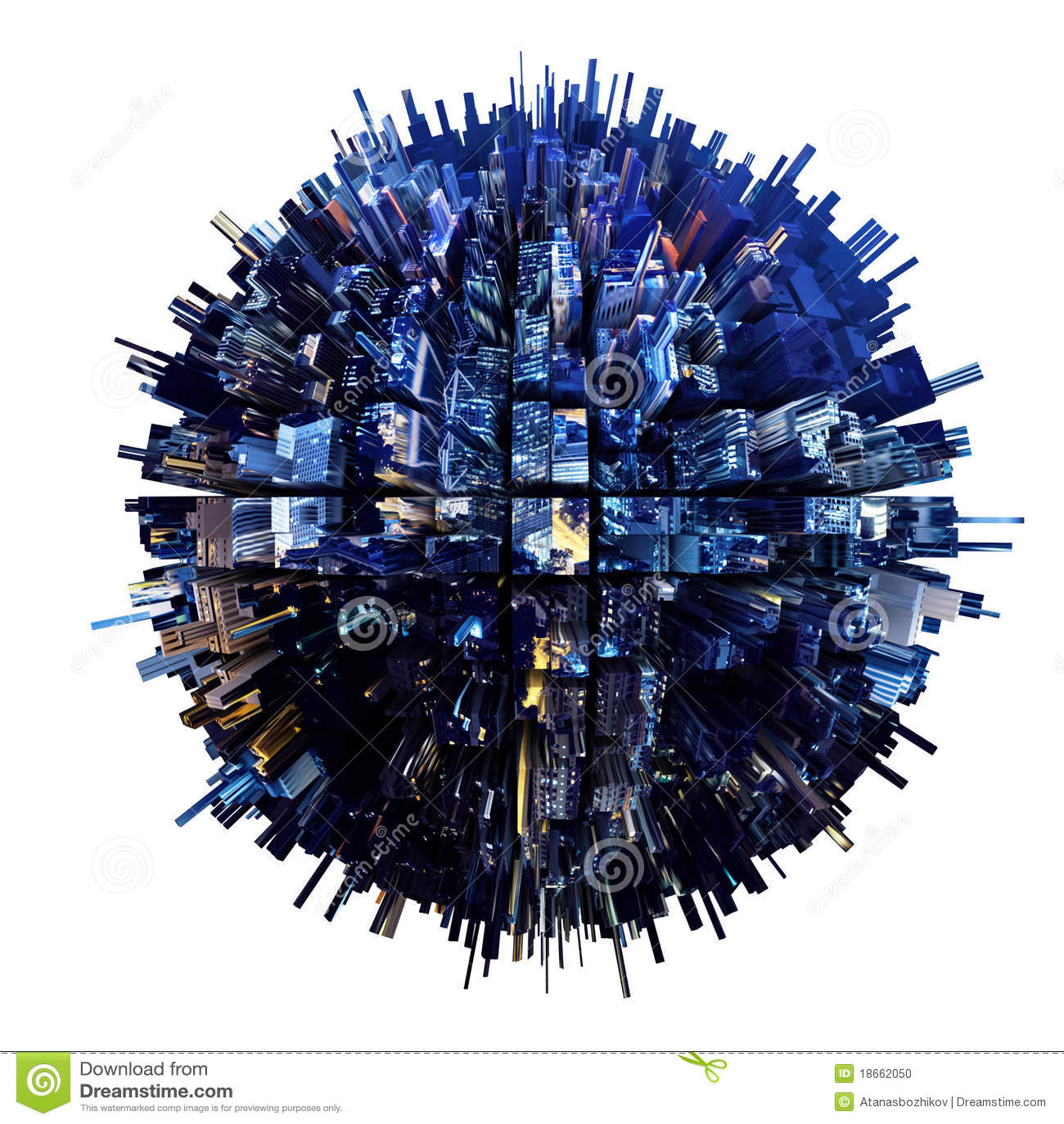 Planeta urbano 3D