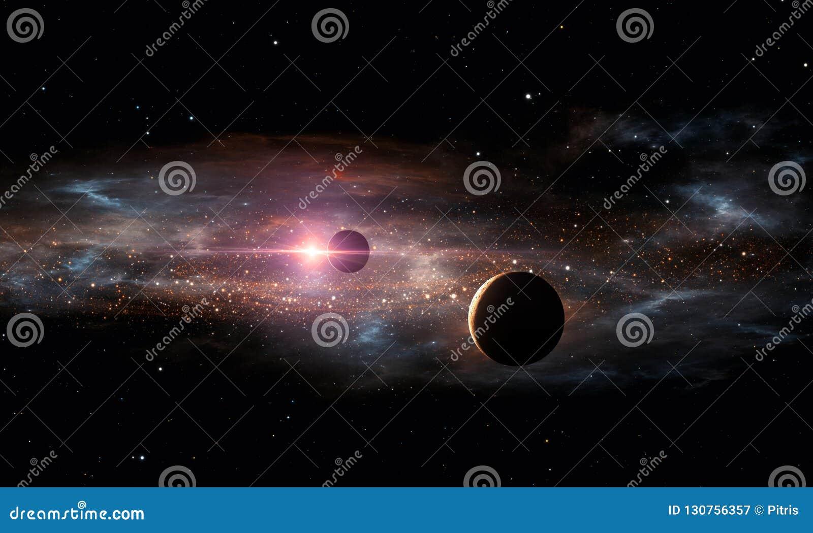 Planetas de Extrasolar O espaço