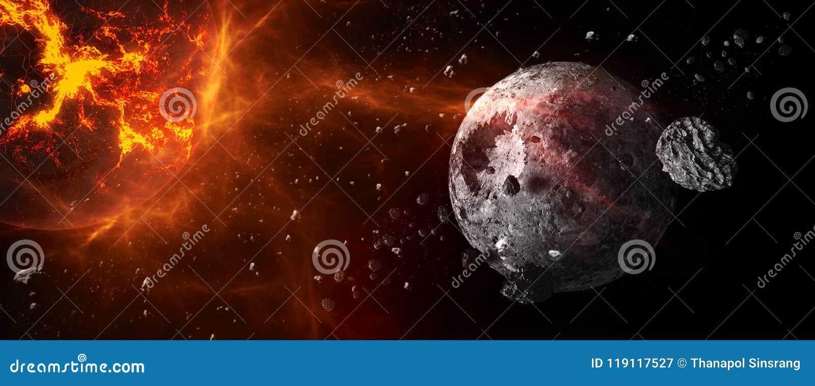 Planetas e galáxias, papel de parede da ficção científica Beleza do espaço profundo