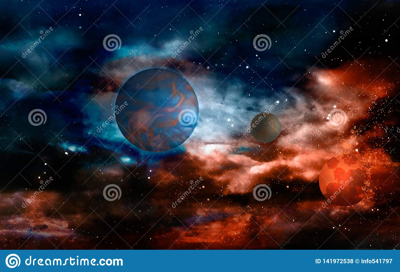 Planets in the red-hot universe