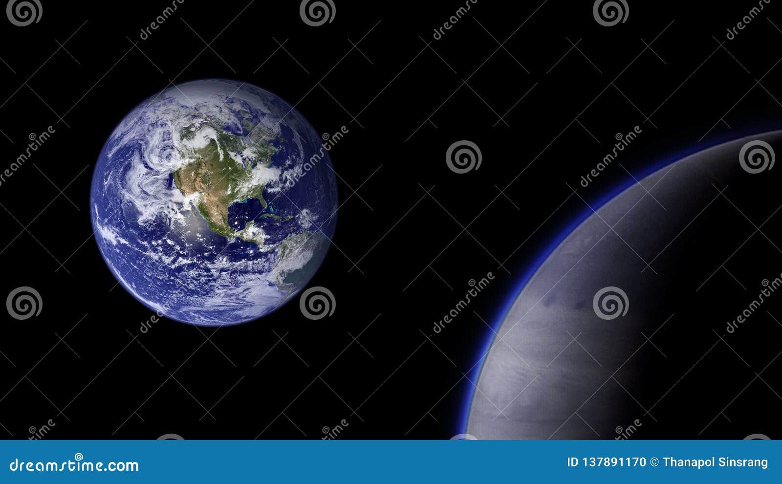 Planeten und Galaxie, Kosmos, körperliche Kosmologie
