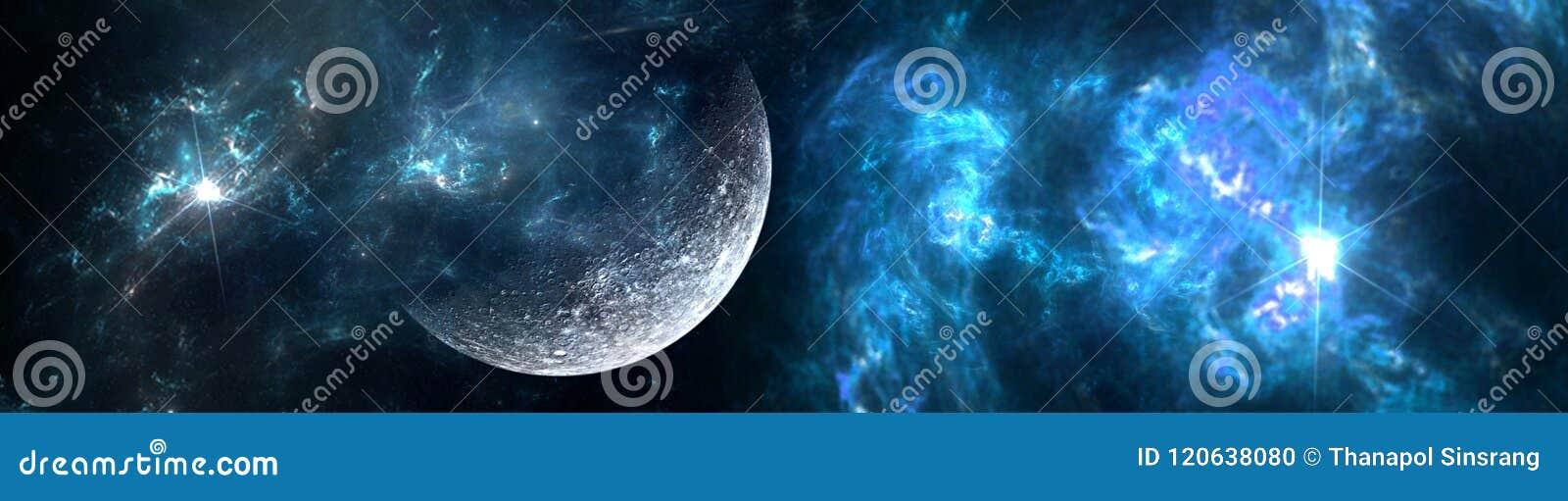 Planeten und Galaxie, Zukunftsromantapete