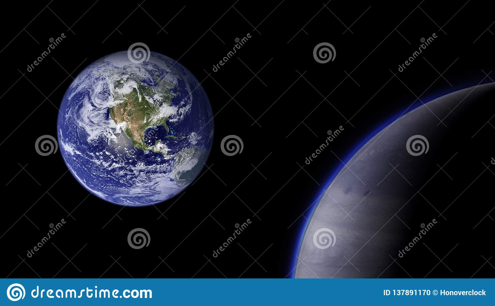 Planeter och galax, kosmos, fysisk kosmologi