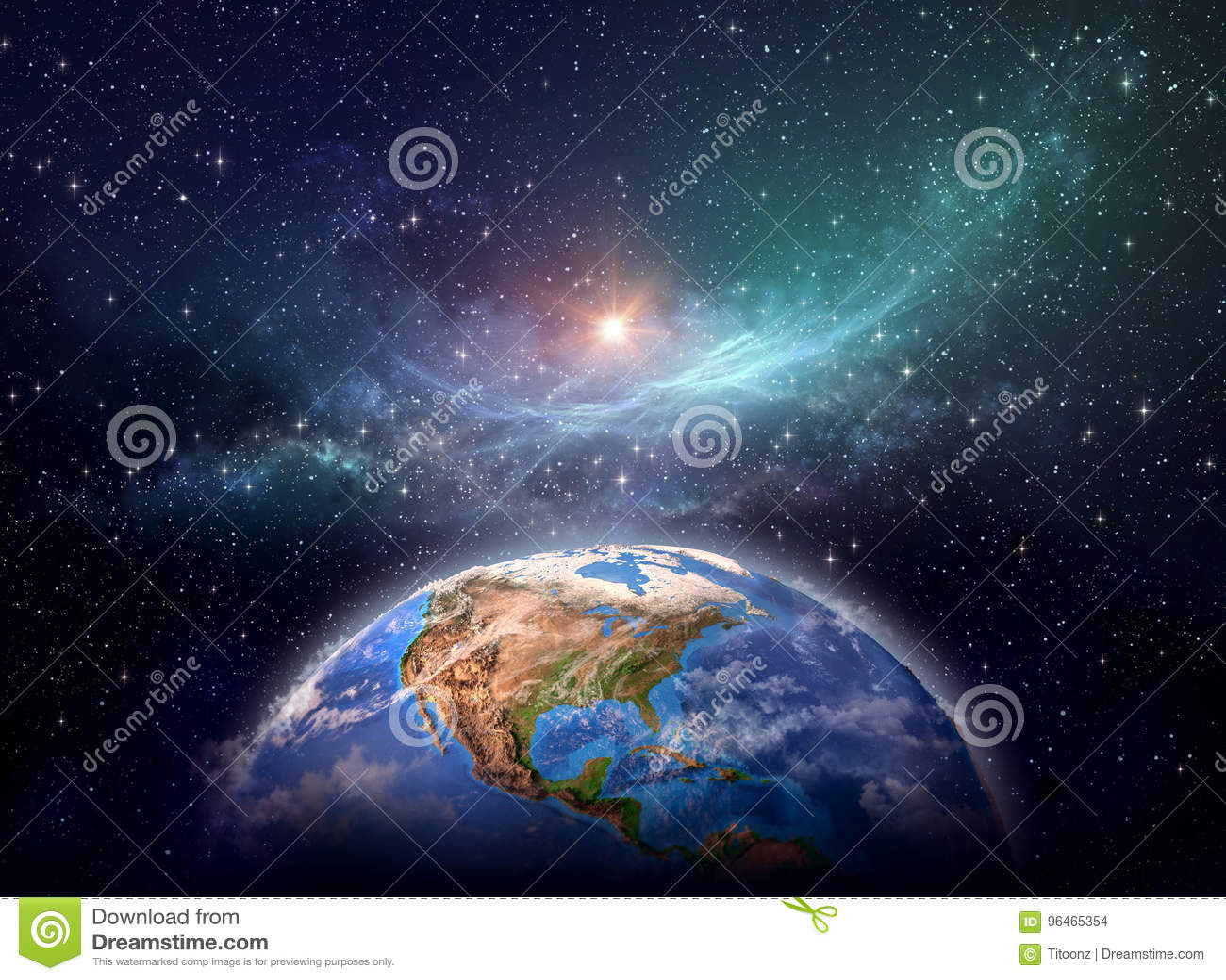 Planetjord i kosmiskt utrymme