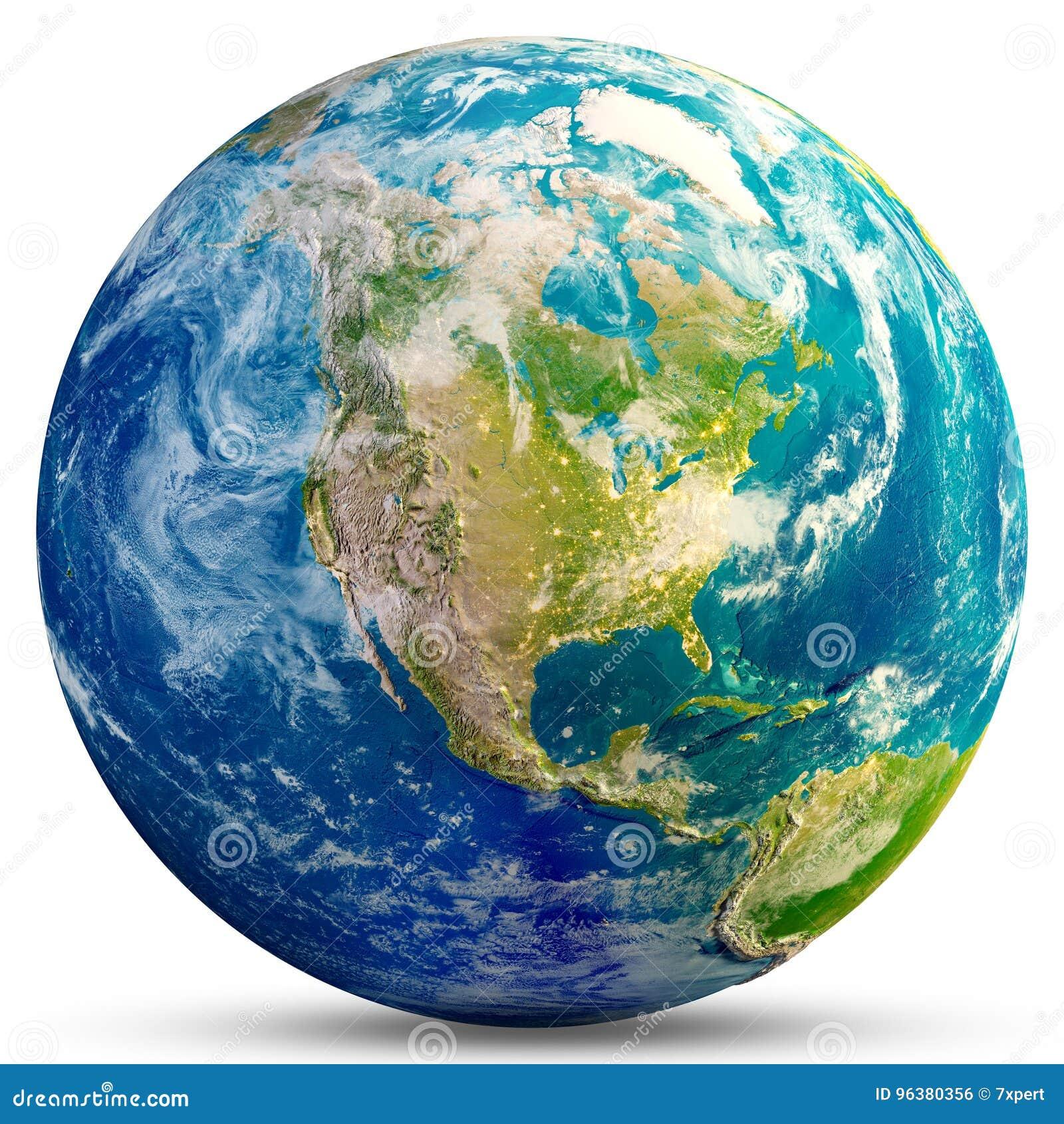 Planetjord - USA