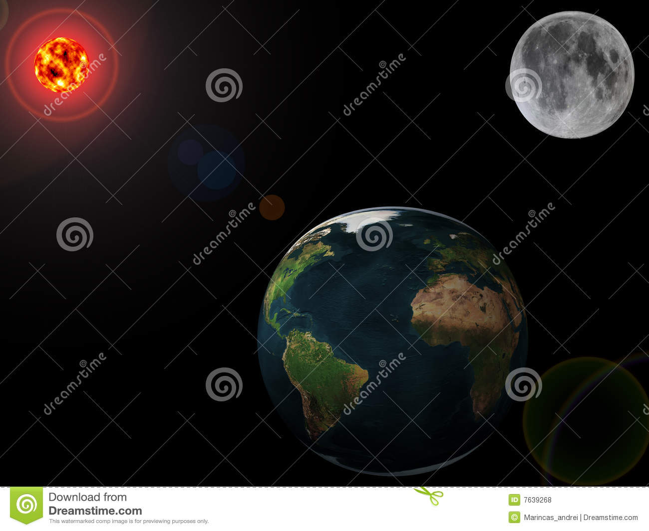 map of sun and planets - photo #35