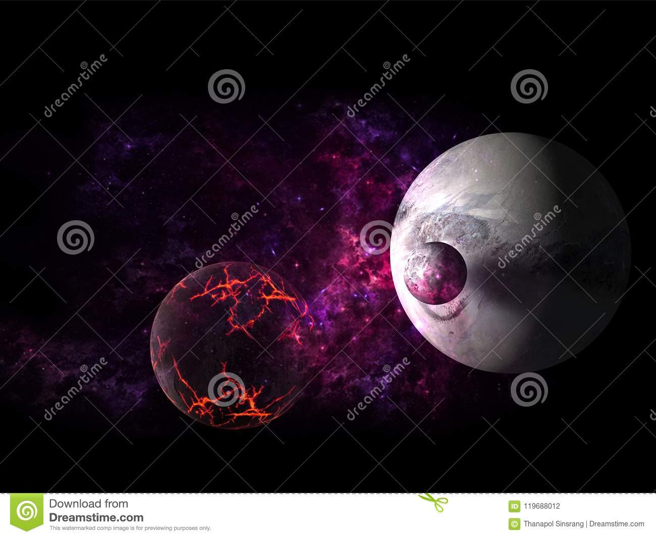 Planets And Galaxies Science Fiction Wallpaper Beauty Of Deep Space