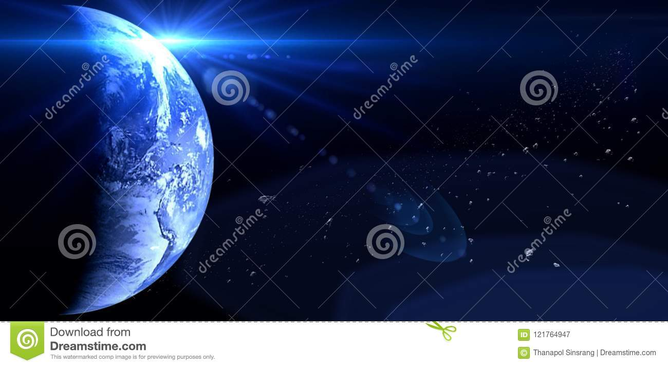 Planets And Galaxy Science Fiction Wallpaper Beauty Of Deep Space