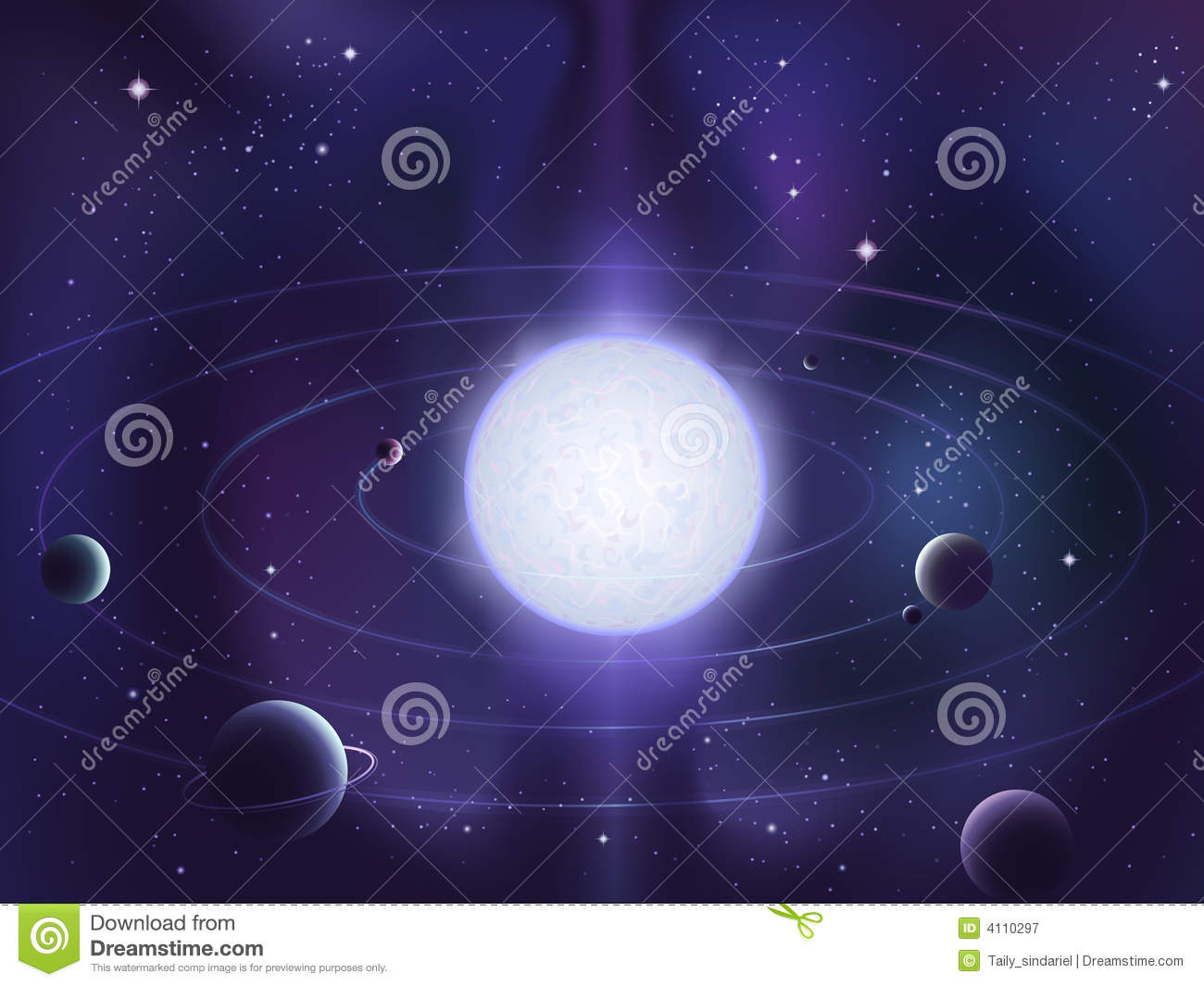 planets around a star - photo #4