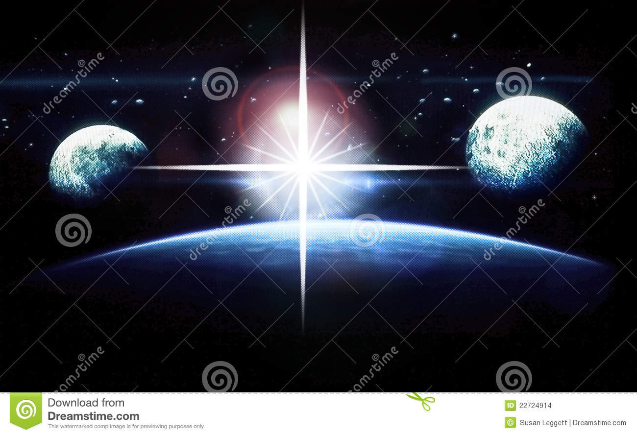 outer space planets and stars - photo #19
