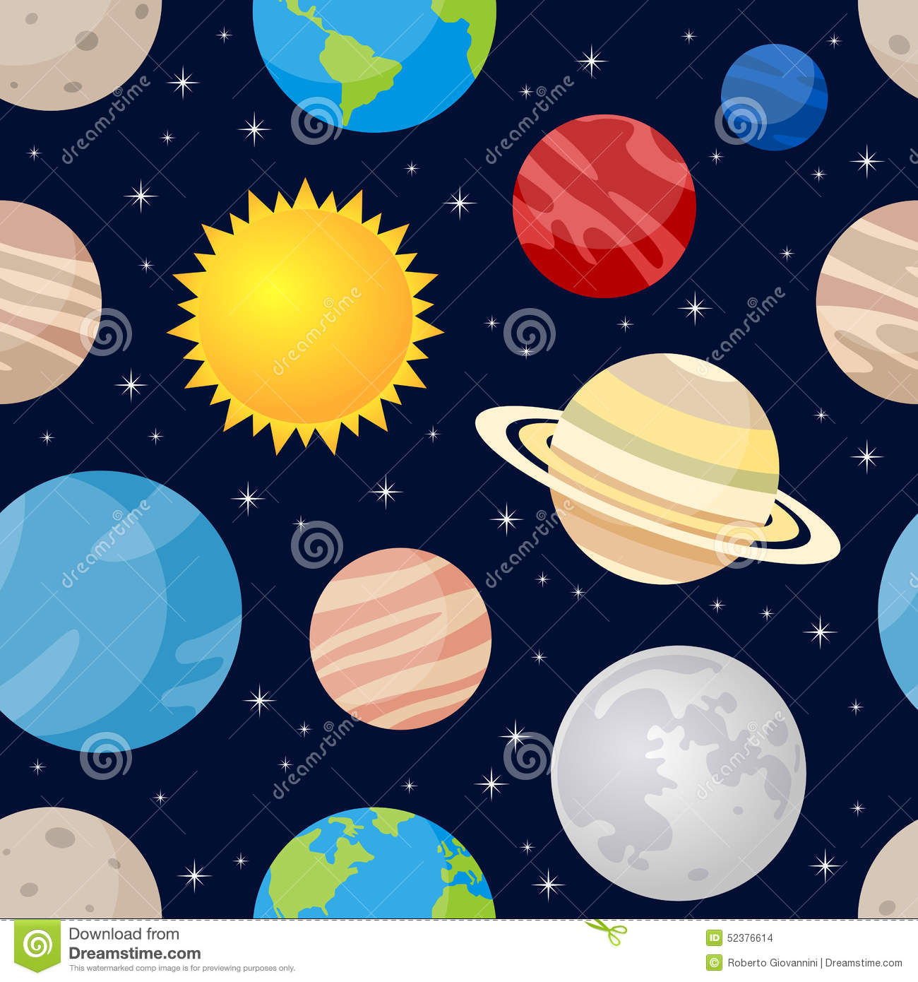 planets and stars clipart - photo #44