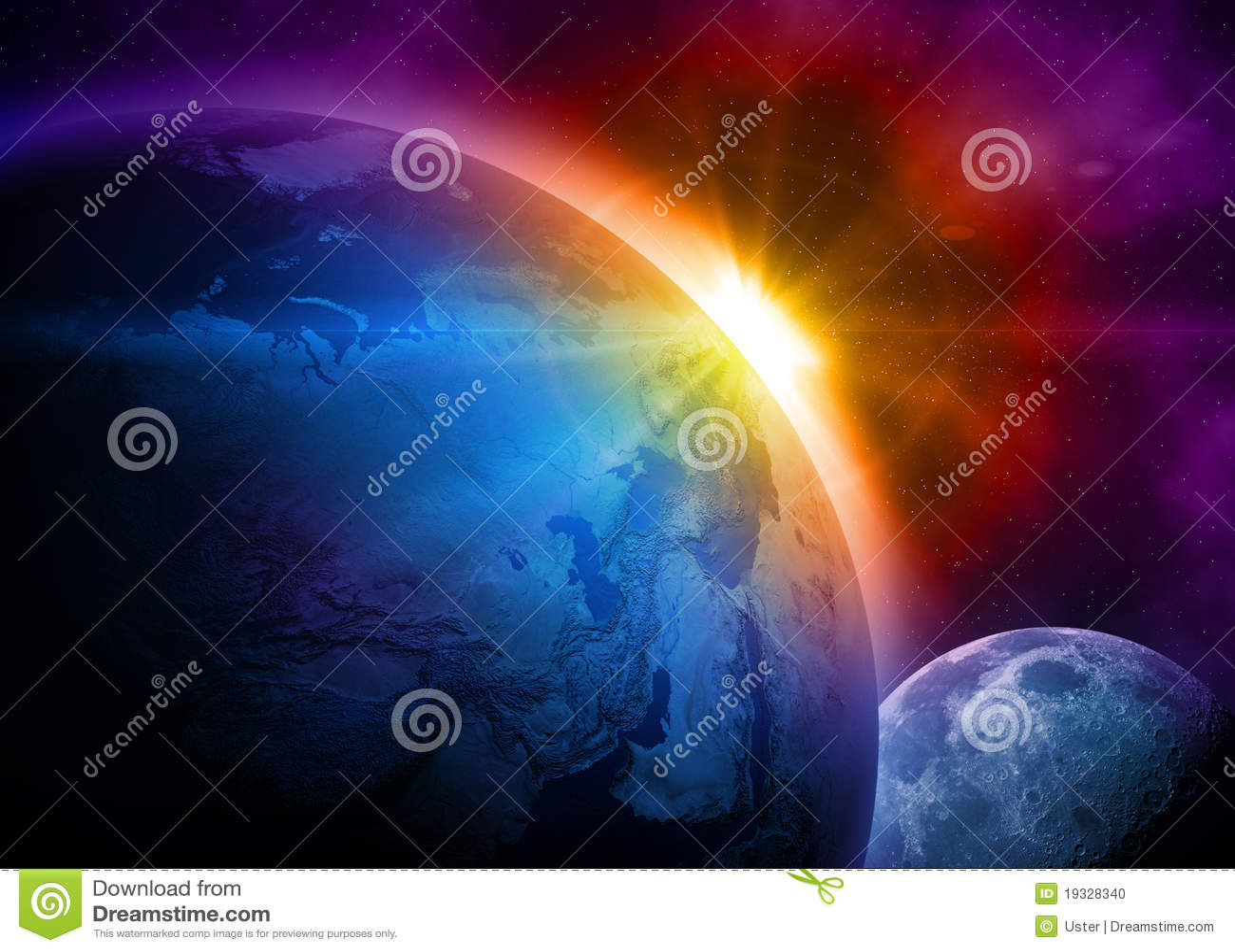 Planety ziemska przestrzeń
