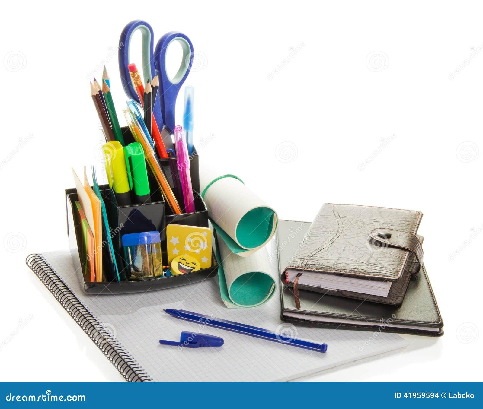 Planificador diario material de oficina y la libreta for Material de oficina